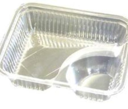 Nacho Trays / Plastic 2-Compartment