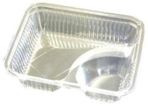 Nacho Trays / Plastic 2-Compartment