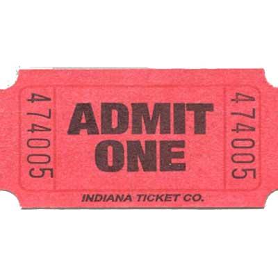 Roll Tickets - Admit One