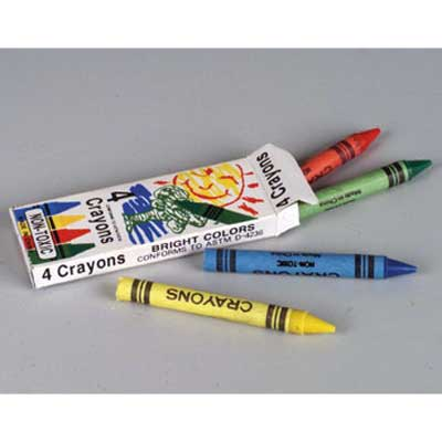 Crayon Set 4 pc