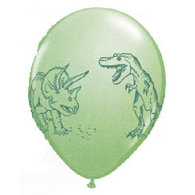 Dinosaurs in Action Balloons