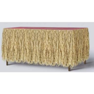 Raffia Table Skirting