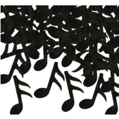 Fanci-Fetti Black Music Notes
