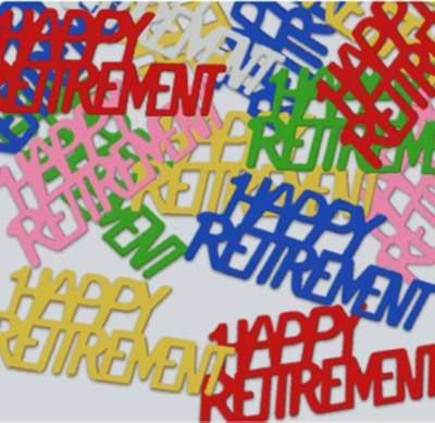 Fanci-Fetti Happy Retirement