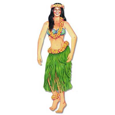 Hula Girl - Jointed