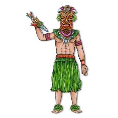 Tiki Man - jointed
