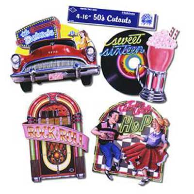 Fabulous 50's Cutouts