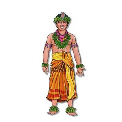 Polynesian Dancer - Jointed