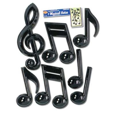 Musical Notes - plastic