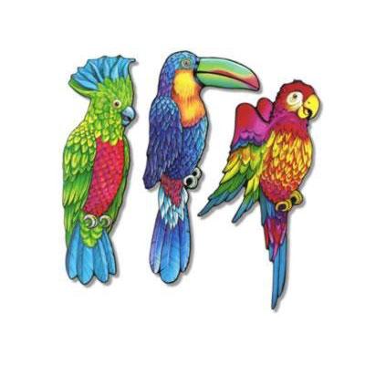 Exotic Bird Cutouts