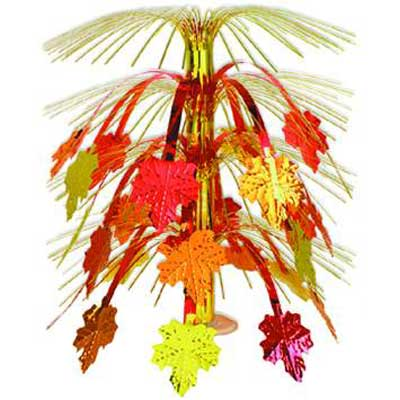 Fall Leaves Cascade Centrepiece