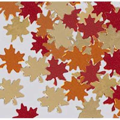 Fanci-Fetti Autumn Leaf