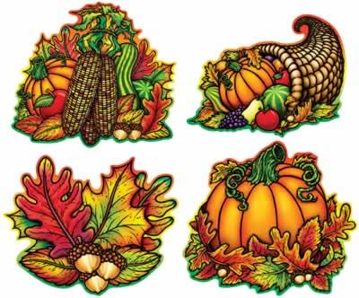Autumn Splendor Cutouts