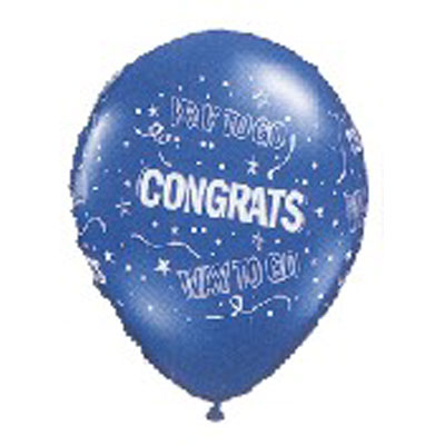 Way to Go Congrats Balloons