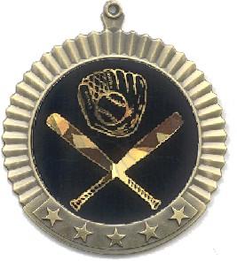 Blank Star Medal w/ 2
