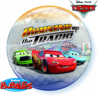 Cars Bubbles Balloon