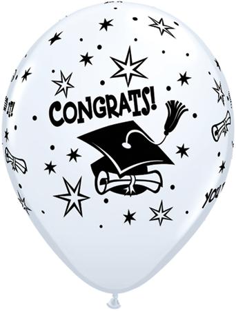 Congrats Cap Balloons