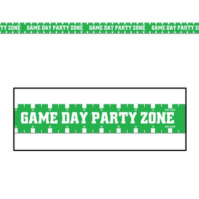 Game Day Party Zone Tape