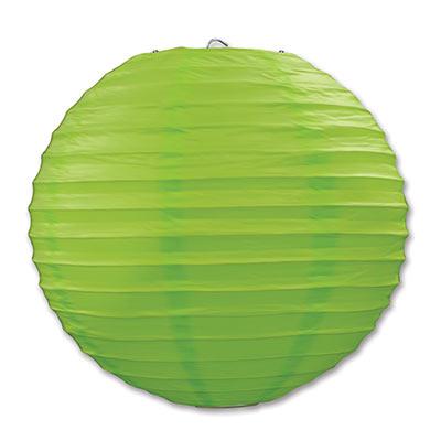 Green Paper Lanterns
