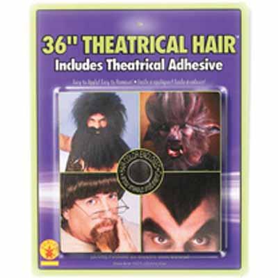 Theatrical Hair  - Black