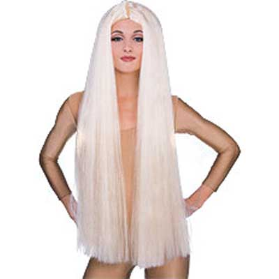 Long Witch Wig - Blonde
