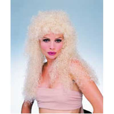 Long Curly Wig - Blonde