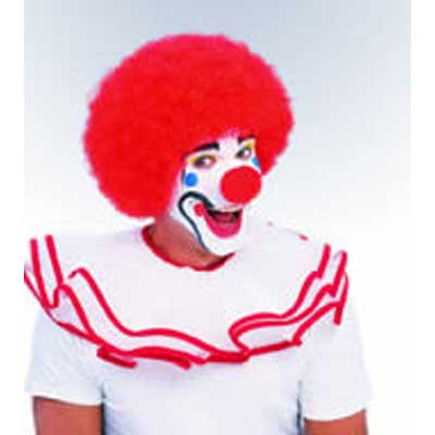 Clown Wig - Red