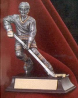 Hockey Player Resin Trophy