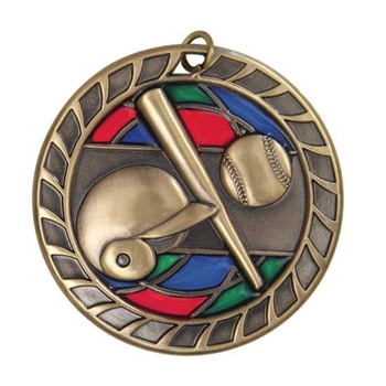 Ball Stained Glass Medal