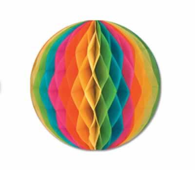 Multicolored Tissue Ball