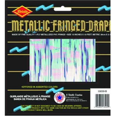 Opal Metallic Fringe