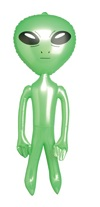 Pearlized Alien Inflatable