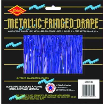 Purple Metallic Fringe