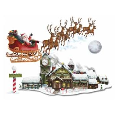 Santa's Sleigh & Workshop Props