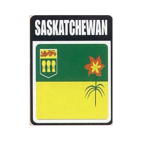 Saskatchewan Flag Decal