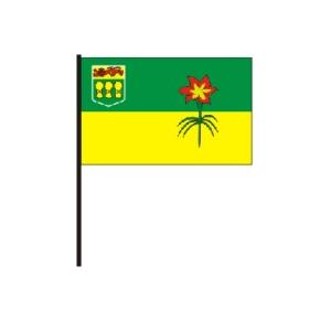Saskatchewan Flag on Stick