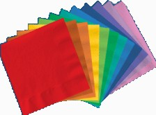 Solid Color Luncheon Napkin