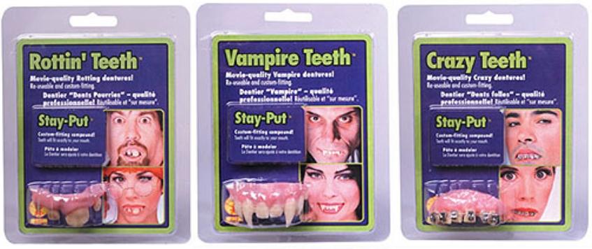 Teeth - Assorted