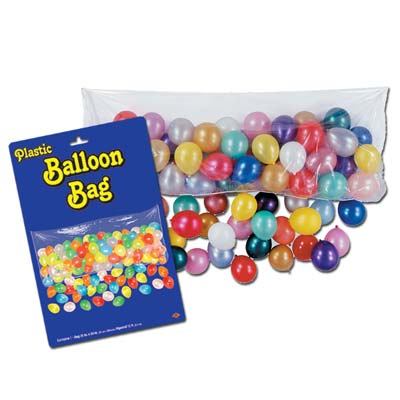 Transparent Balloon Drop Bag