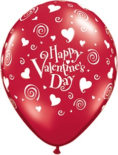 Valentine's Hearts Balloons