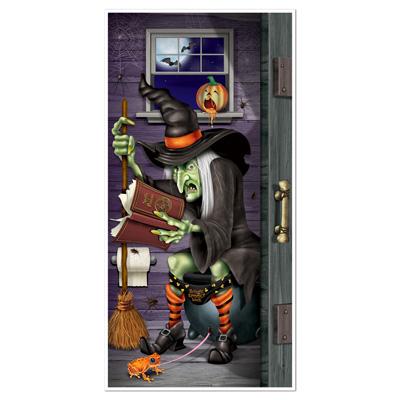 Witch Restroom Door Cover