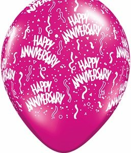 Anniversary-A-Round Balloons