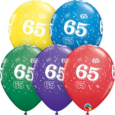65-A-Round balloons