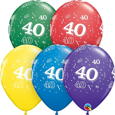 40-A-Round Balloons
