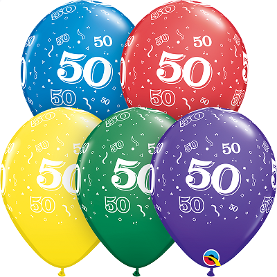 50-A-Round Balloons