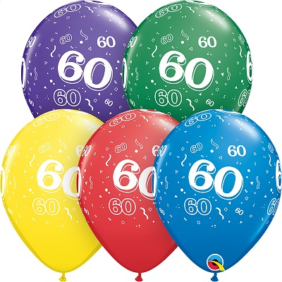 60-A-Round Balloons